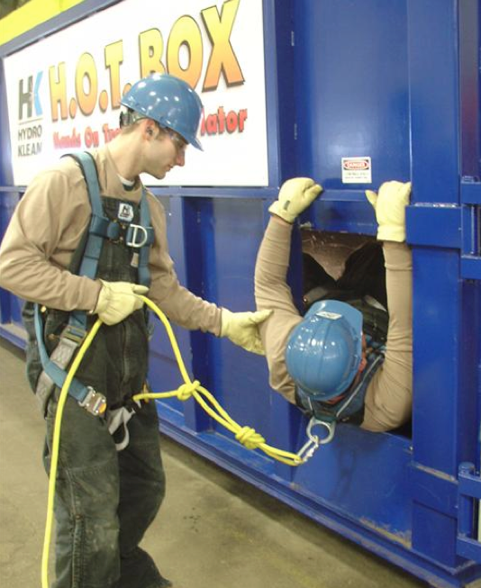 Confined Space regulations for machines